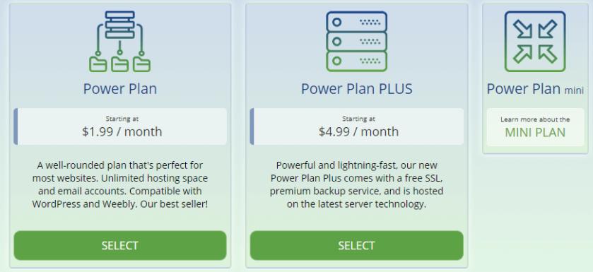 Webhostingpad Shared Hosting Plans